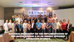 Philippines - Model Course workshop