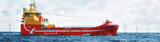 Viking Lady OSV LNG-fuelled with battery-hybrid propulsion